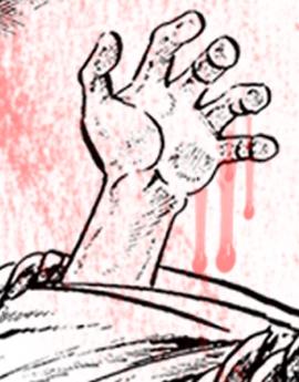 ငရဲဘံုကသားေခ်ာ့ေတး-၇ - Cartoon